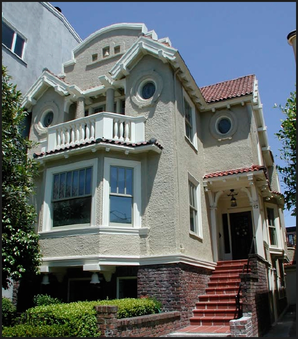 San Francisco Victorian Edwardian Architecture